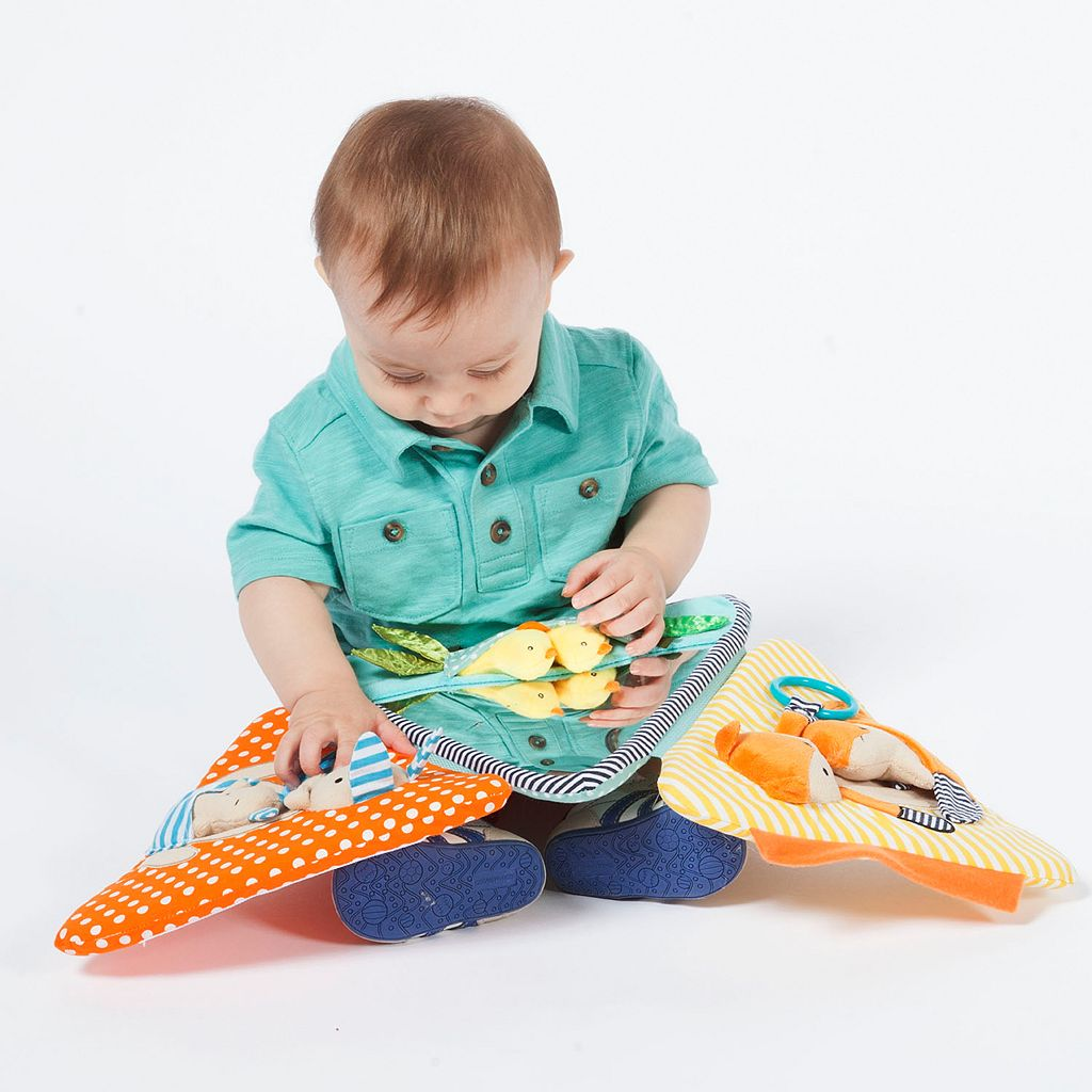 Manhattan Toy Play Pyramid Multi-Sensory Activity Toy