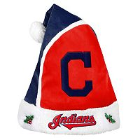 Adult Cleveland Indians Santa Hat