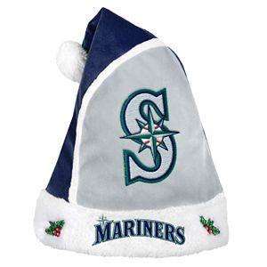 Adult Seattle Mariners Santa Hat