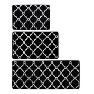 Madison Park Essentials Reversible Trellis Memory Foam Rug