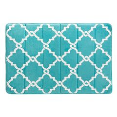 Madison Park Essentials Reversible Trellis Memory Foam Rug