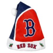 Adult Boston Red Sox Santa Hat