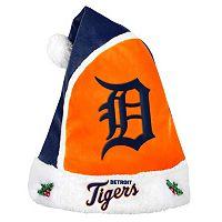 Adult Detroit Tigers Santa Hat