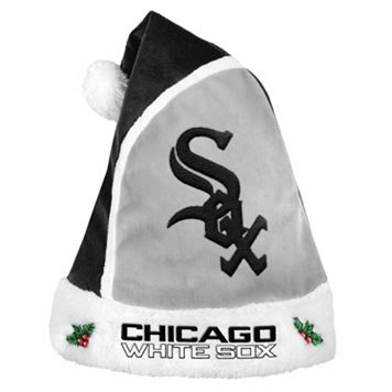 Adult Chicago White Sox Santa Hat
