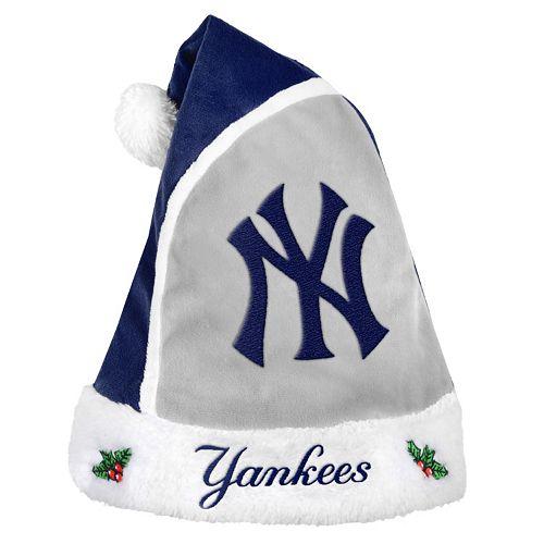 Adult New York Yankees Santa Hat