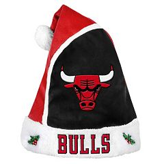 Adult Chicago Bulls Santa Hat