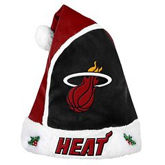Adult Miami Heat Santa Hat