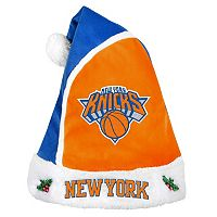 Adult New York Knicks Santa Hat