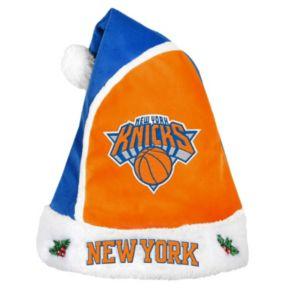 Adult New York Knicks Santa Hat