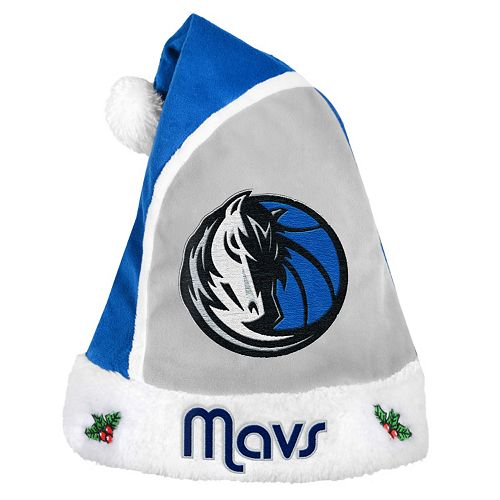 Adult Dallas Mavericks Santa Hat