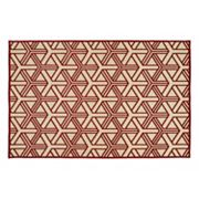 Kaleen A Breath of Fresh Air Dimensions Geometric Indoor Outdoor Rug