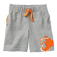 Disney / Pixar Finding Dory Nemo & Hank Toddler Boy French Terry Shorts by Jumping Beans®