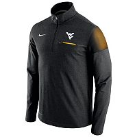 Men's Nike West Virginia Mountaineers Elite Coaches Dri-FIT Pullover