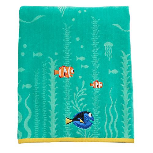 Finding Nemo Bath Towel Set: Disney / Pixar Finding Dory Dory, Nemo & Marlin Bath Towel
