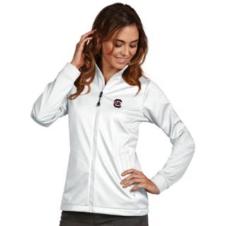 Women's Antigua South Carolina Gamecocks Waterproof Golf Jacket
