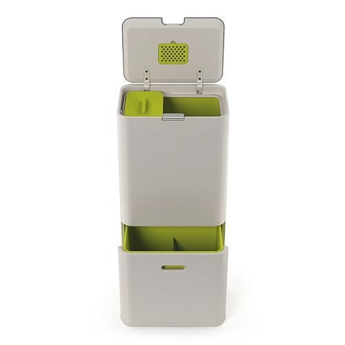 Joseph Joseph Totem 60-Liter Trash & Recycling Can