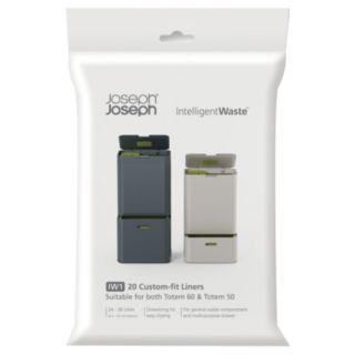 Joseph Joseph Totem IntelligentWaste 20-pk. Trash & Recycling Can Liners