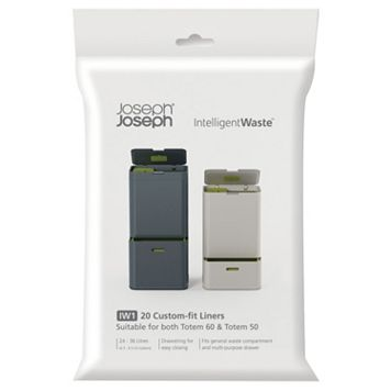 Joseph Joseph Totem IntelligentWaste 20-pk. Trash & Recycling Can Liners