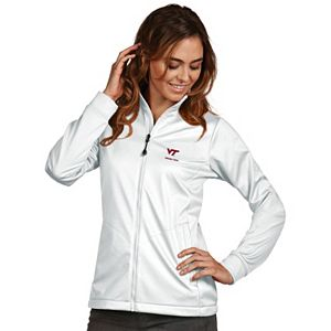 Women's Antigua Virginia Tech Hokies Waterproof Golf Jacket