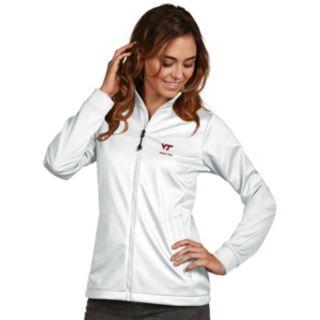 Women's Antigua Virginia Tech Hokies Waterproof Golf Jacket