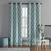 VCNY 2-pack Tribeca Diamond Blackout Curtains