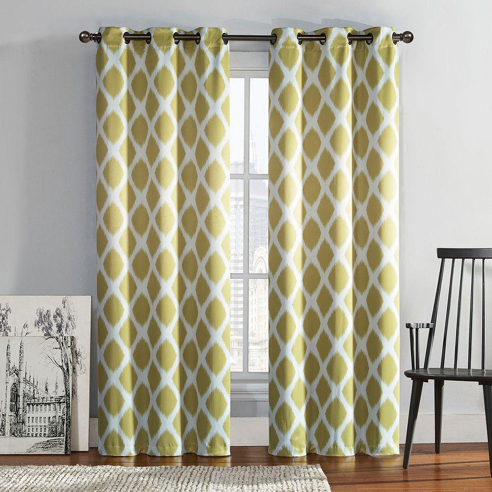Kohls Bedroom Curtains Black Curtains Kohls