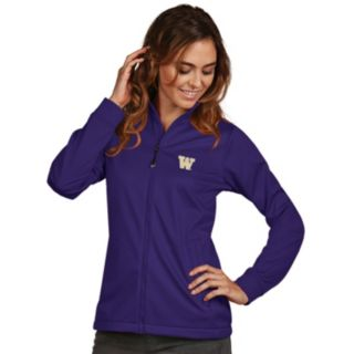 Women's Antigua Washington Huskies Waterproof Golf Jacket