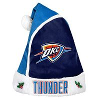 Adult Oklahoma City Thunder Santa Hat