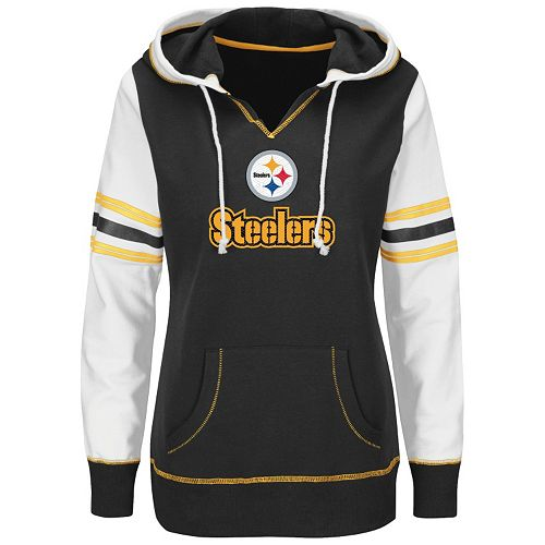 the latest 5d1d5 b3313 Women's Plus Majestic Pittsburgh Steelers Touchdown ...