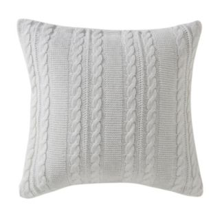 VCNY Dublin Cable Knit Throw Pillow