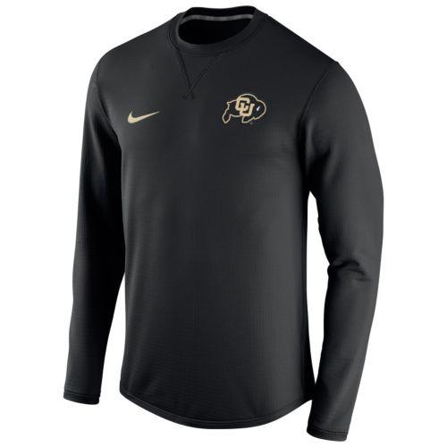 Men's Nike Colorado Buffaloes Modern Waffle Fleece Sweatshirt
