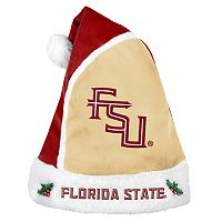 Adult Florida State Seminoles Santa Hat