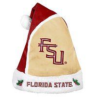 Adult Florida State Seminoles Santa Hat