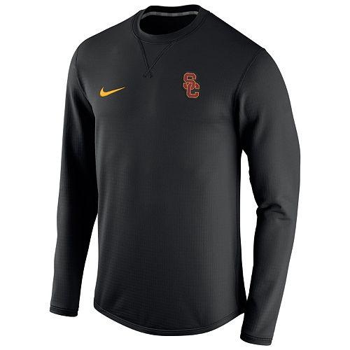 ca4c337c Men's Nike USC Trojans Modern Waffle Fleece Sweatshirt