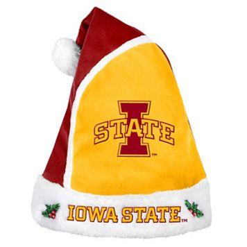 Adult Iowa State Cyclones Santa Hat
