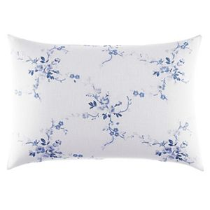 Laura Ashley Lifestyles Charlotte Embroidered Throw Pillow