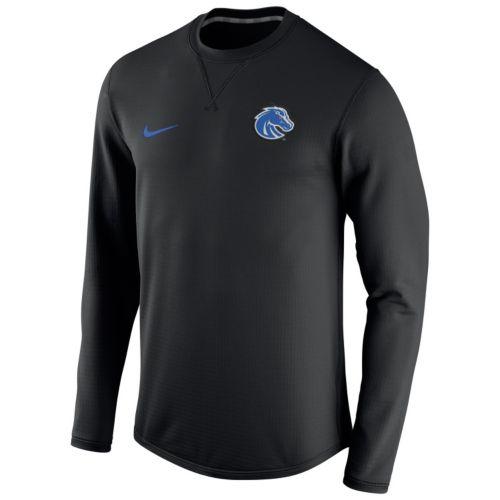 Men's Nike Boise State Broncos Modern Waffle Fleece Sweatshirt