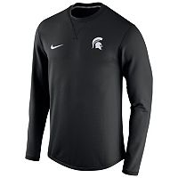 Men's Nike Michigan State Spartans Modern Waffle Fleece Sweatshirt