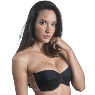 Maidenform Bra: Balconette Lace Backless Strapless Adhesive Bra M2236