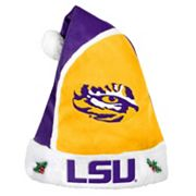 Adult LSU Tigers Santa Hat