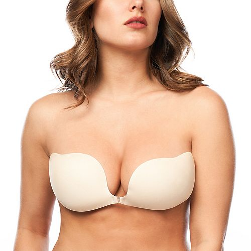 Maidenform Bra: Front-Close Backless Strapless Adhesive Bra M2239