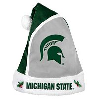 Adult Michigan State Spartans Santa Hat