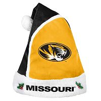 Adult Missouri Tigers Santa Hat