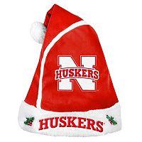 Adult Nebraska Cornhuskers Santa Hat