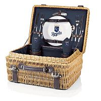 Picnic Time Kansas City Royals Champion Willow Picnic Basket with Service for 2