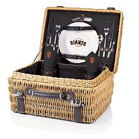 Picnic Time San Francisco Giants Champion Willow Picnic Basket with Service for 2