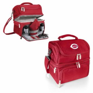 Picnic Time Cincinnati Reds Pranzo 7-Piece Insulated Cooler Lunch Tote Set