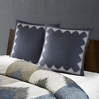 INK+IVY Isla Embroidered Euro Sham