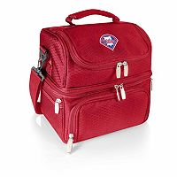 Picnic Time Philadelphia Phillies Pranzo 7-Piece Insulated Cooler Lunch Tote Set