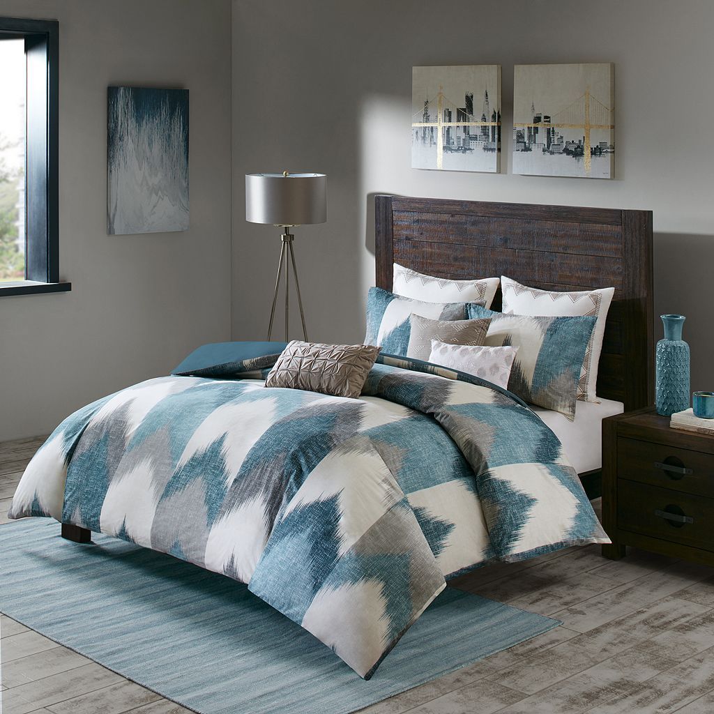 INK+IVY Alpine 3-piece Duvet Cover Set